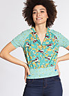 blusenwunder blusette, spree sparrows, Blouses, Blau