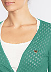 cache coeur cardy, green corn, Jumpers & lightweight Jackets, Green