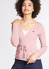 cache coeur cardy, rose corn, Cardigans, Rosa