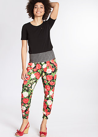 daydream diva pants, la belle vie, Cloth pants, Schwarz