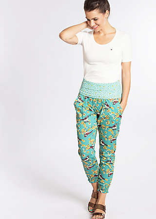 daydream diva pants, spree sparrows, Hosen, Blau
