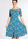 deetas dolce vita dress, malva maritima, Jersey Dresses, Blau