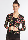 devils sweetheart cardigan, french fleur, Jumpers & lightweight Jackets, Black