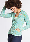 eclectic cuckoo cardy, kiss from berlin, Cardigans, Blau