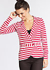 eclectic cuckoo cardy, san diego stripes, Blazer, Rot