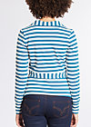 eclectic cuckoo cardy, swedish stripes, Cardigans, Blau