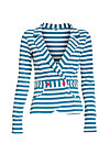 eclectic cuckoo cardy, swedish stripes, Blazer, Blau
