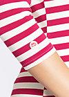 flotte marine biene shirt, san diego stripes, Langarm, Rot