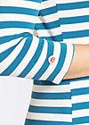 flotte marine biene shirt, swedish stripes, Langarm, Blau
