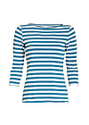 flotte marine biene shirt, swedish stripes, Langarm, Blau