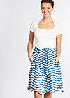 ice in the sunshine skirt , sail away, Röcke, Blau