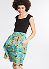 ice in the sunshine skirt , spree sparrows, Woven Skirts, Blau