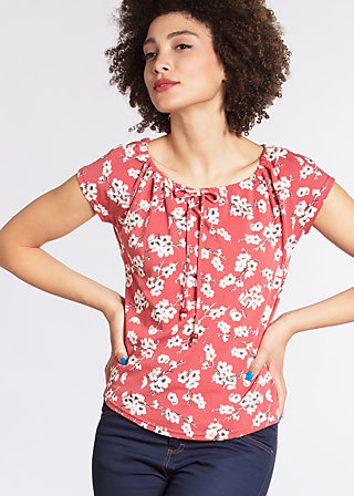 in love with lolita tee, spring all in, Kurzarm, Rot