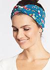 knot of wisdom hairband , malva maritima, Haarbänder, Blau