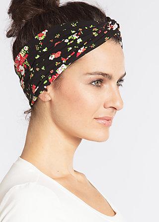 knot of wisdom hairband , french fleur, Haarbänder, Schwarz