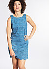 l'amour toujours dress, swallow me, Webkleider, Blau