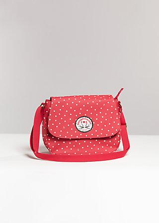 lean on my shoulderbag, blutsister ahoi, Handbags, Rot