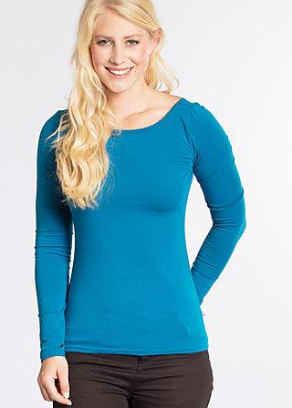logo longsleeve, blue seawater, Shirts, Blau