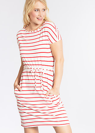 logo stripe dress, summer breeze stripes, Dresses, Weiß
