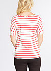 logo stripe t-shirt, summer breeze stripes, Shirts, Weiß