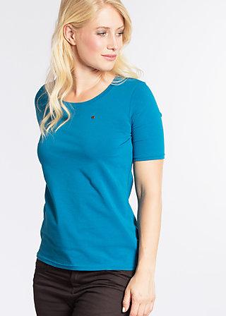 logo t-shirt, blue seawater, Shirts, Blau