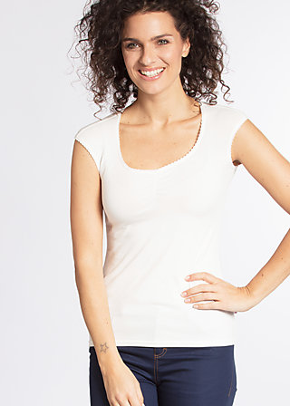 logo top, white sparkling spume, Shirts, Weiß