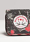 lucky penny purse, cafe capri, Portemonnaies, Schwarz