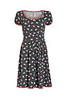 marylins cottage dress, birds of berlin, Jerseykleider, Schwarz