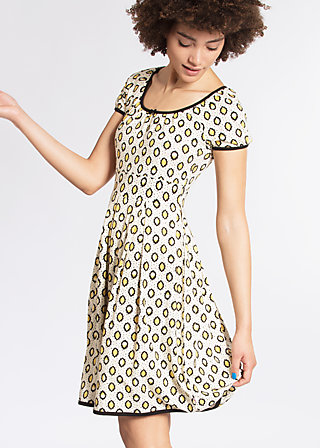 marylins cottage dress, lloret des lemons, Jerseykleider, Schwarz