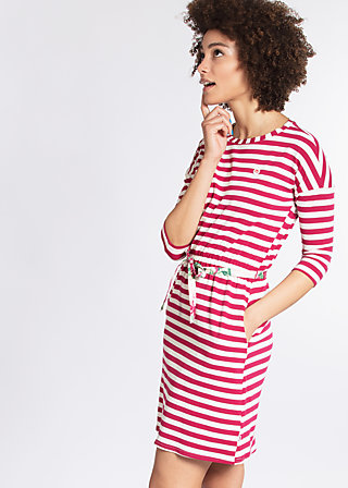 pure allure dress, san diego stripes, Jerseykleider, Rot