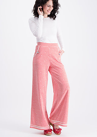 sailor marlene pants , diva bardot, Stoffhosen, Rot