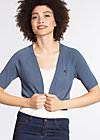 siesta sister bolero, blue dotty, Short Jackets, Blau