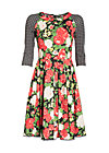 singing in the spring dress, la belle vie, Webkleider, Schwarz