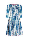 singing in the spring dress, sail away, Webkleider, Blau