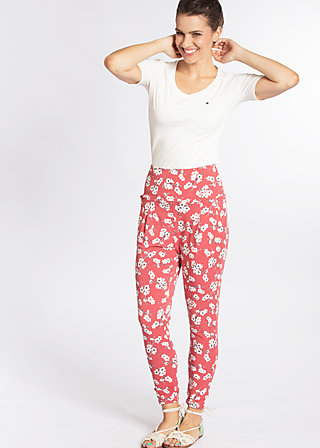 sunset lovers pantalons, spring all in, Stoffhosen, Rot