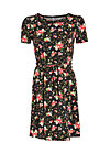 valley girl bubidress, french fleur, Jerseykleider, Schwarz