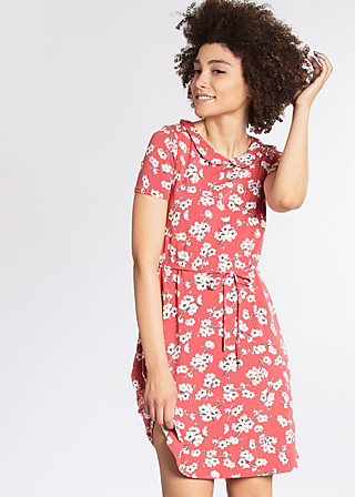 valley girl bubidress, spring all in, Jerseykleider, Rot