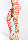 wild legs, rose lovers, Leggings, Weiß