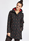 wild weather long anorak, mon ami cherie, Softshell, Schwarz