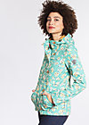 wild weather petite anorak, blossom spring time, Softshell, Blau