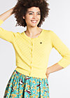 wonderwaist cardy, yellow holes, Jumpers & lightweight Jackets, Yellow