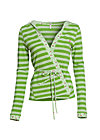 klappfix cardigan, stripe the grass, Cardigans, Grün