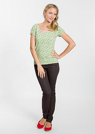 bruderkuss gretchen tee, cutesy wootsy, Shirts, Grün