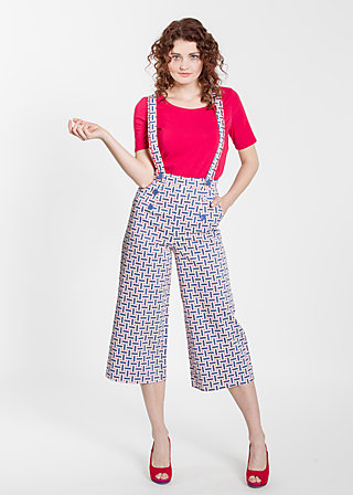 dreierhopp culotte, fishermans daughter, Hosen, Blau
