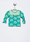 feinsliebchens longsie, flower shopper, Shirts, Türkis
