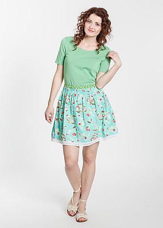 genossinnen glocke, floral promotion, Skirts, Türkis