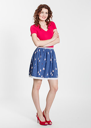 genossinnen glocke, miss baltic sea, Skirts, Blau