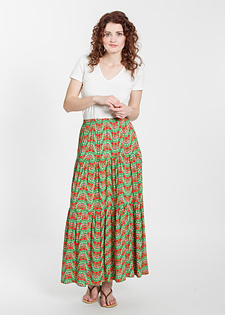 kiss me honey skirt, bright bungalow, Skirts, Grün