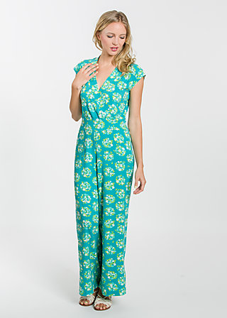 lure of the tropics suit, flower shopper, Hosen, Türkis