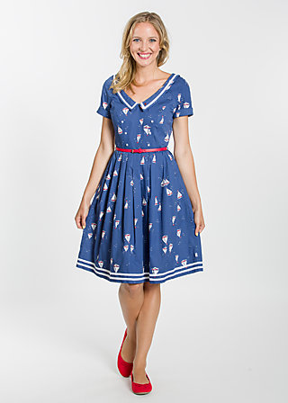 müggelsee matrosin robe, miss baltic sea, Webkleider, Blau